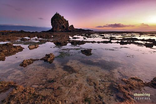 travel sea sun beach water rock sunrise landscape coast seaside rocks seascapes outdoor philippines shore aurora baler waterscape diguisitbeach