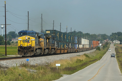 CSX Q025, Fort Branch,IN 9/24/2016 | by Bluegrass Railfan