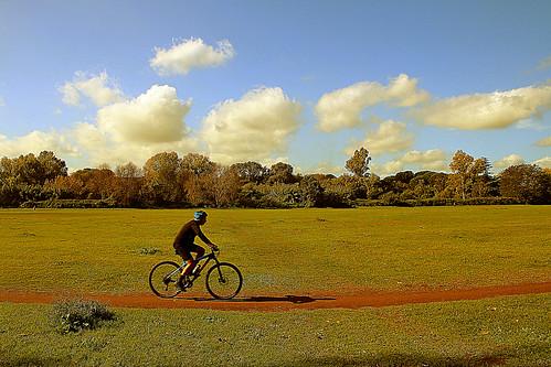 roma caffarella bycicle ciclismo