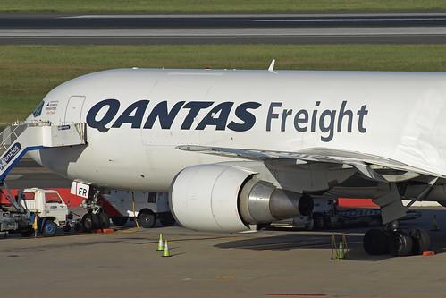 Qantas Freight Boeing 767