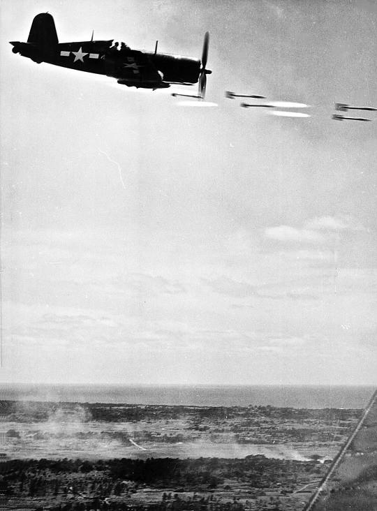 Corsair, Battle of Iwo Jima