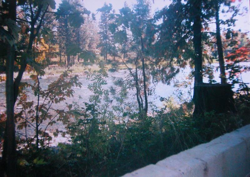 Wenatchee River in Peshastin