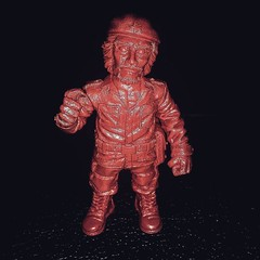 Dead Red El Jefe #arttoys #toyart #minifigures #RagingNerdgasm #actionfigures #ToyGameTedDibase #toyhorder #toysagram #ToysAreMyDrug #customtoys #TomKhayos #ToyGameScroogeMcDuck @thedanielyu #etsy