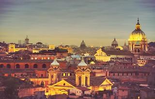Rome at dusk. | by Tawheed Manzoor
