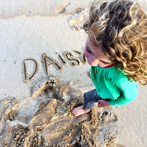 Sand writing. West Cove, Erith Island. | by miaow