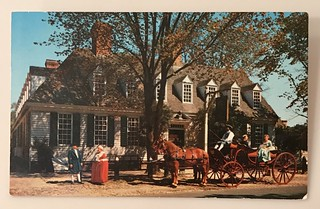 Williamsburg, Virginia postcard