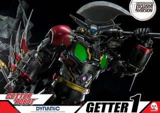 ThreeZero Getter Black | by toybot studios