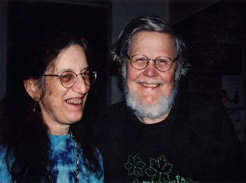 Dick and Martha, April 2002 2