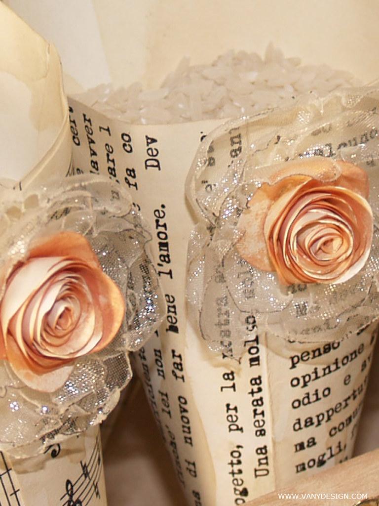 Rose Fai Da Te coni-faidate-portariso-vanydesign-tutorial-vintage-13d | flickr