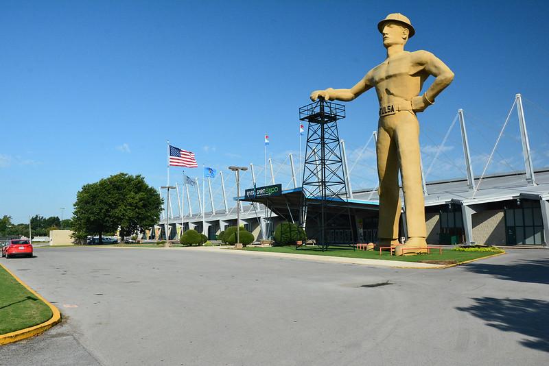 Golden Driller, Tulsa