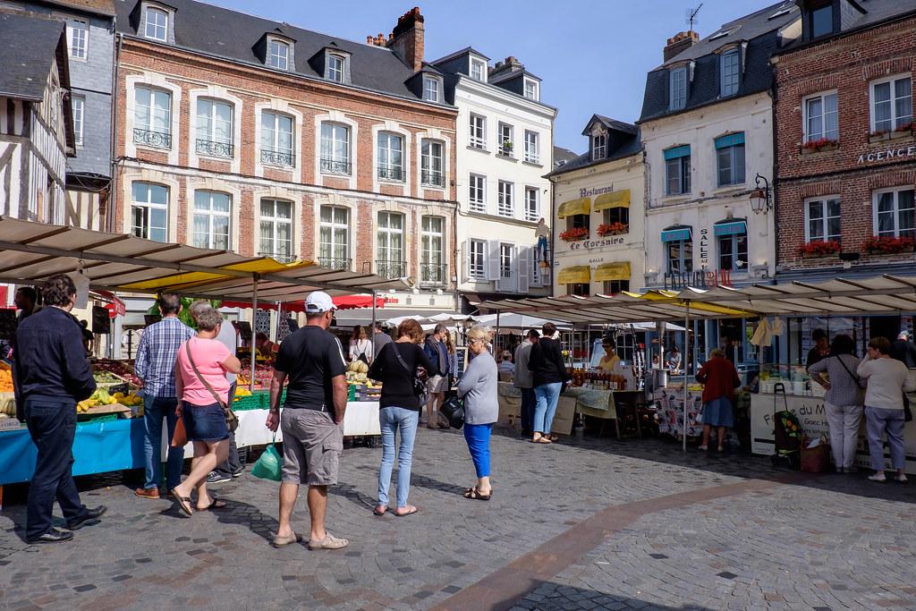 Normandie (France) - Honfleur: Rue Des Lingots