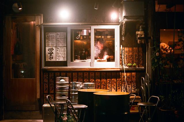 心齋橋 大阪 Osaka, Japan #Urbex / AGFA VISTAPlus / Nikon FM2