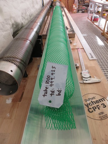 Ice destined for core tube number 1000 | by U.S. Ice Drilling