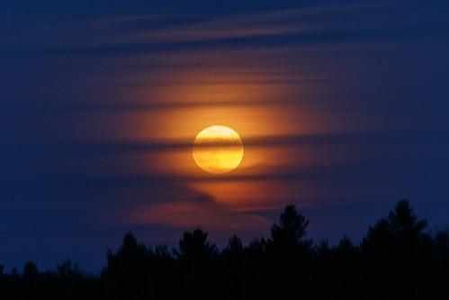ontario opinicon southfrontenac moon
