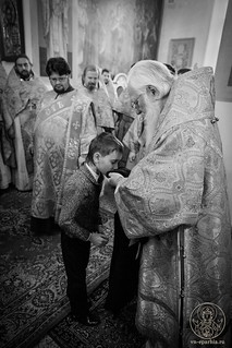 Литургия в Покровском соборе 550