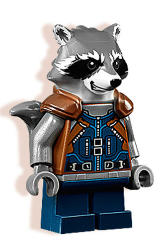 LEGO 76079 Guardians of the Galaxy Ravager Attack Rocket Raccoon Minifigure