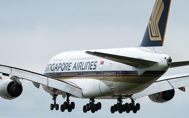 9V-SKQ | Airbus A380 | Singapore Airlines | London Heathrow | August 2015