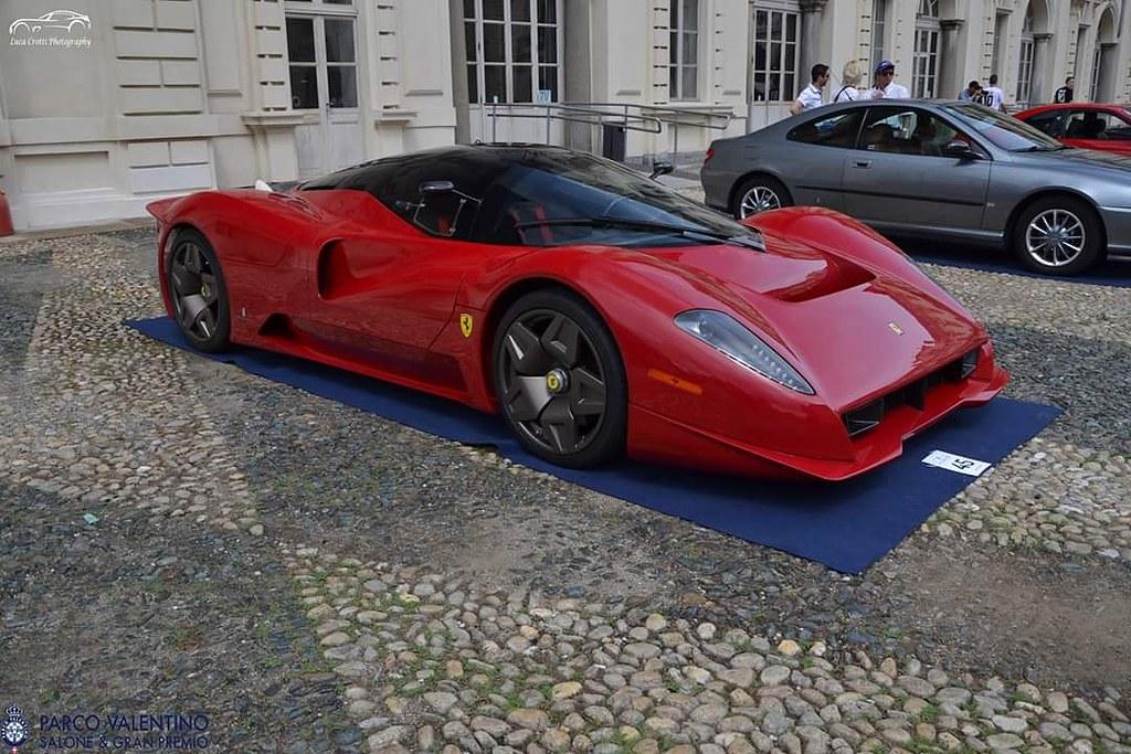 P45 Pininfarina Ferrari P45 Pininfarina Luca Crotti