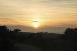 Black Mountain Misty Sunset