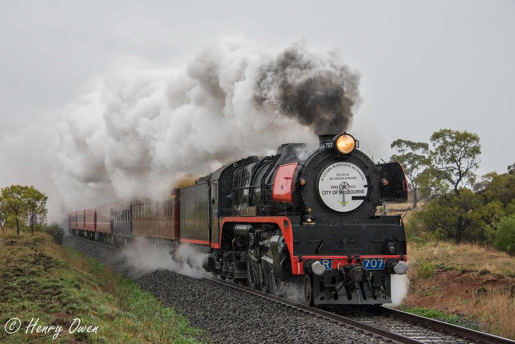 Celebratory Steam by Henry Owen