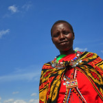 Portrait of a Young Maasai Woman