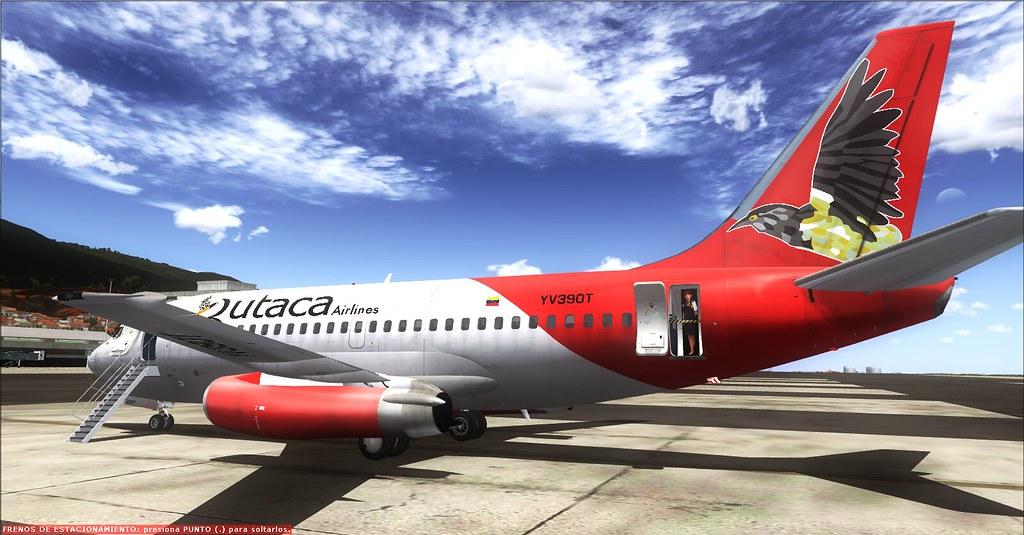Aterrizaje en SVMI Rutaca Boeing 737-200 YV390T   TinMouse I…   Flickr
