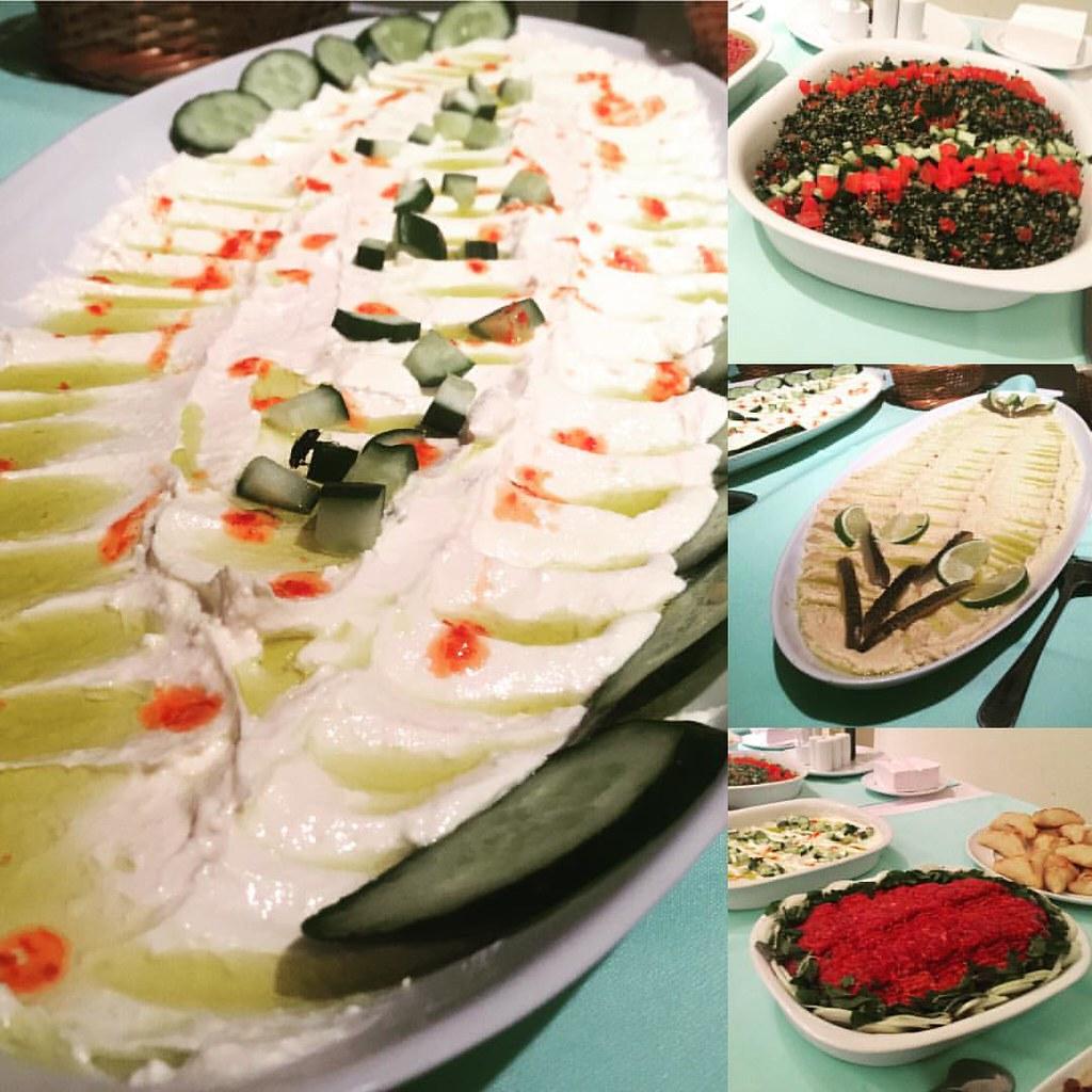 Authentic arabic food, my Syrian friends make! // Comida á