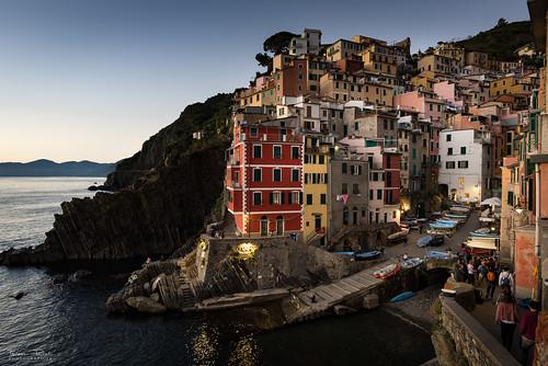 Riomaggiorre, Cinque Terre, Italy | by Frédéric Pactat