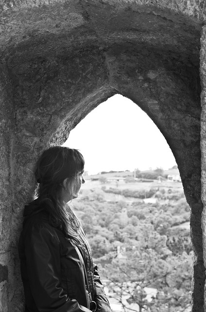 Mirando el paisaje