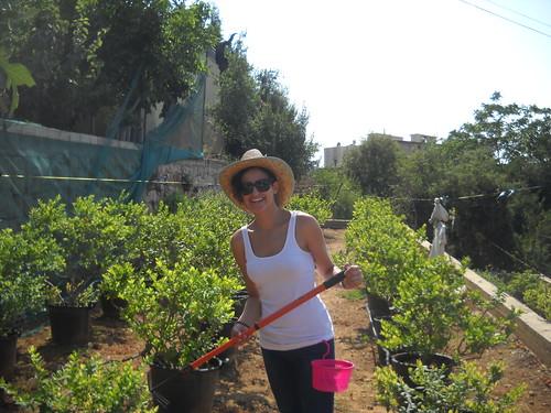 Hoda picking Berries a Aug 2, 2014 | by toutberryfarms