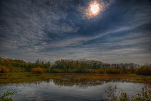park ohio sky cloud nature water view cincinnati vista sunnyray k9type gilmorepondsmetropark gilmoremetropark leonherbertphotography photomatixpro5