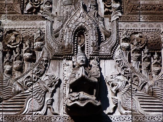 Monasterio Shwenandaw de Myanmar