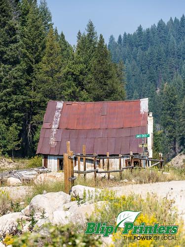 building exterior ghosttown rockybar idaho unitedstates