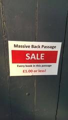 Unfortunate Sale sign