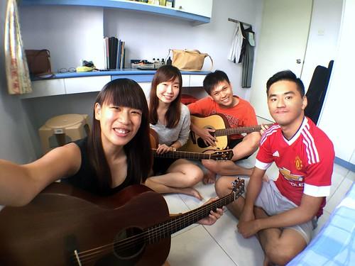 Guitar lessons Singapore Steffi Wen Ting Yong Siang