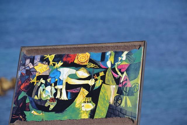 Pablo Ruiz Picasso, pêche de nuit à Antibes, 1939. In situ. Night fishing at Antibes