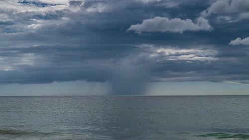 wolken clouds rain florida storm tampa regen sturm clearwater meeri coast meer sea küste beach usa strand