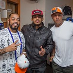 Thaide, MC Garden e Mano Brown