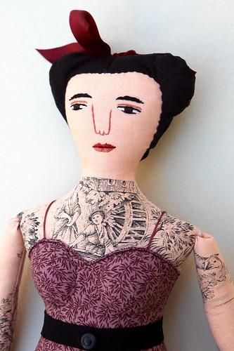 tattooed lady in mauve | by Mimi K