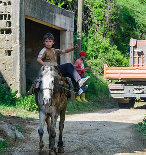 Boy Riding a Horse - Janevo, Kosovo | by Paul Diming