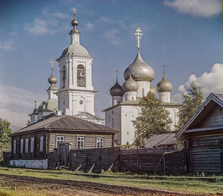 Church of the Assumption of the Mother of God. [Belozersk, Russian Empire]