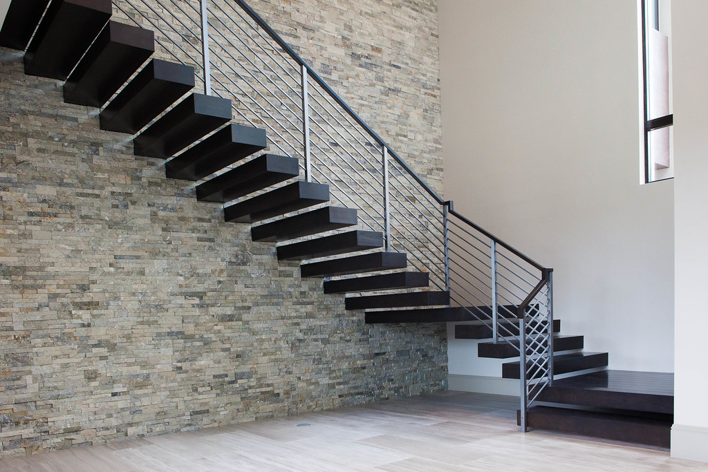 Floating Stair Treads | JD Stairs | Flickr