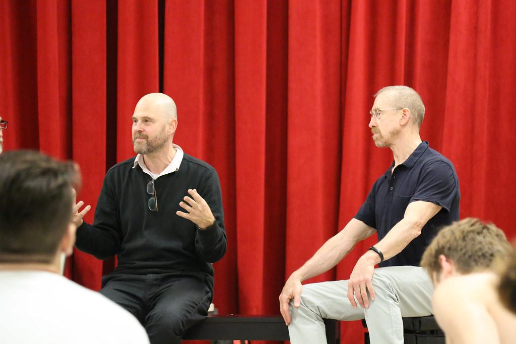 Alva Noe & William Forsythe Lead Colloquium
