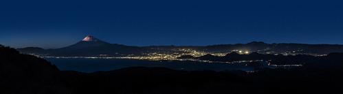 leica panorama japan 50mm twilight nightshot summicron nightview 夜景 shizuoka 富士山 izu mtfuji 静岡 伊豆 パノラマ 沼津 達磨山 mydaruma