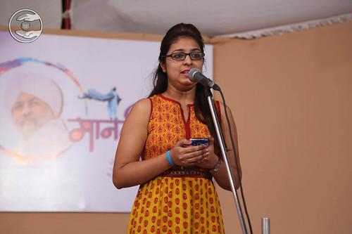 Devotional song by Sanjana