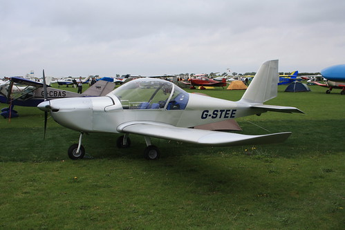 G-STEE EV-97 Eurostar [PFA 315-15037] Sywell 030911