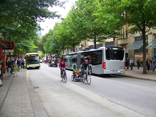 Spitalerstrasse transit mall, Hamburg, Germany