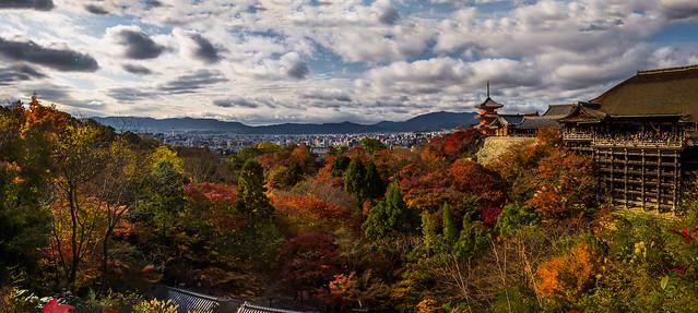 Kyoto from Kiyumizu