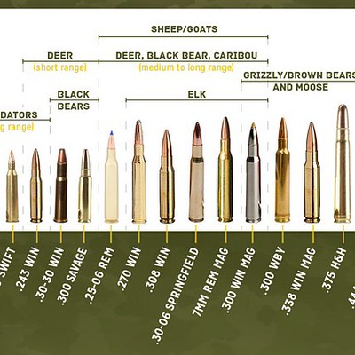 Use This Rifle Caliber Chart To Pick The Right Ammo For Hu Flickr