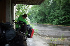 waiting out the rain, Germany, June 2015